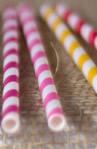 Colored-paper-straws