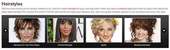 Try on thousands of different looks at TheHairStyler.com