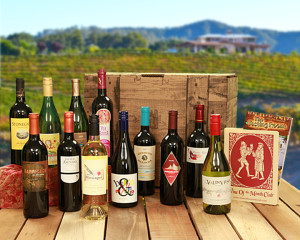 Image: The Case Club offers 12 individually selected wines every 3rd month. Source: WineoftheMonthClub.com