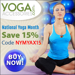 YogaAccessories.com National Yoga Month