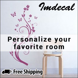 Shop fom 100's of wall decals at IMDecal.com