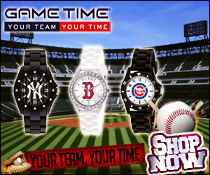 Shop for watches with your favorite team logo at GameTimeShop.com!