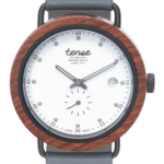 The new Hybrid! A stunning combination of wood, metal, and leather!