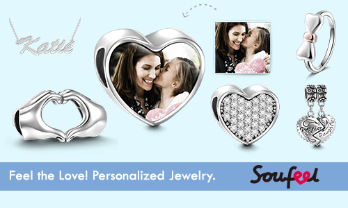 Soufeel Affiliate Program - Feel the love with personalized jewelry