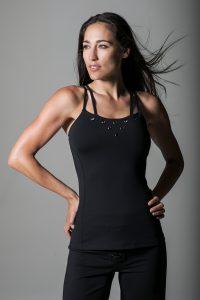 KiraGrace Grommet yoga top